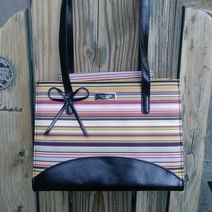 Kate Spade Striped Shoulder Bag